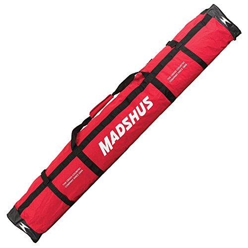 Madshus SKI Bag (15 Pairs) - Langlaufskitasche - 213 x 38 x 29 cm - 42 Liter - rot - 18A4504.1.1.1SIZ
