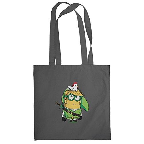Texlab–Banana Link–sacchetto di stoffa Grau
