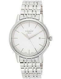 Herren-Armbanduhr XL Analog Quarz Edelstahl T085.410.11.011.00