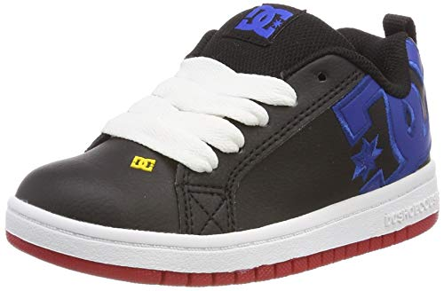 DC Shoes Court Graffik, Scarpe da Skateboard Bambino, Multicolore (Navy/Blue/White NAV), 29 EU