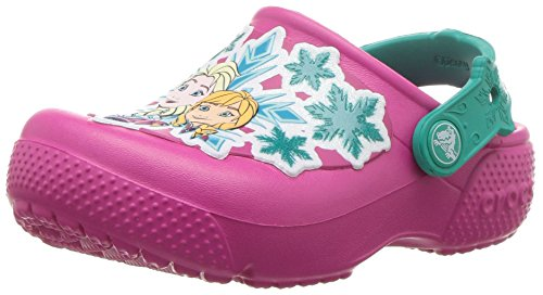 Crocs Crocs Fun Lab Frozen Clog Kids, Mädchen Clogs, Pink (Candy Pink), 24/25 EU
