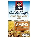 Quaker Oat So Simple Sweet Cinnamon 10 x 33g