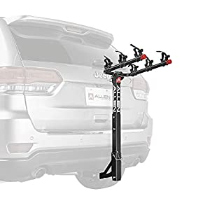 Allen Sports USA Deluxe 3 Hitch Mounted Bike Carrier - Black, 2-Inch/1/1/4-Inch