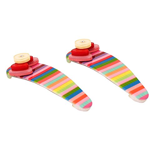 NeedyBee Multicolor Stripe Pre-Walker Soft Sole Slip-On Crib Baby Girls Shoes for Newborn  available at amazon for Rs.117