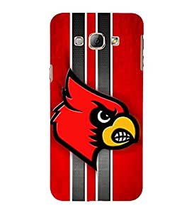 EPICCASE fiery angry bird Mobile Back Case Cover For Samsung Galaxy A5 (Designer Case)