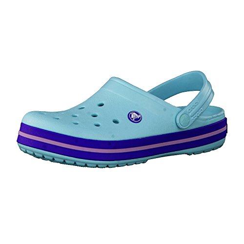 Crocs Crocband Sabot U, Ciabatte Unisex Adulto blu ghiaccio