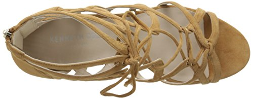 Kenneth Cole Dylan, Sandali con Zeppa Donna Marrone (Umber 908)