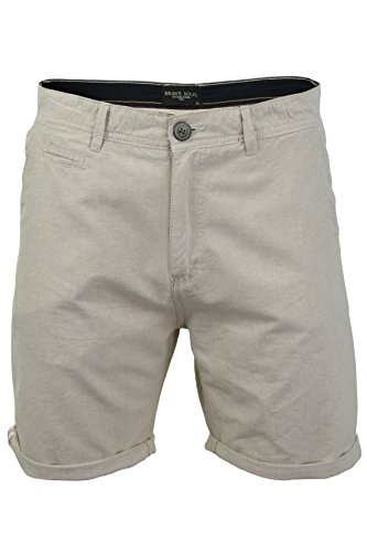 Brave Soul Herren Chino Shorts (Stein) L -