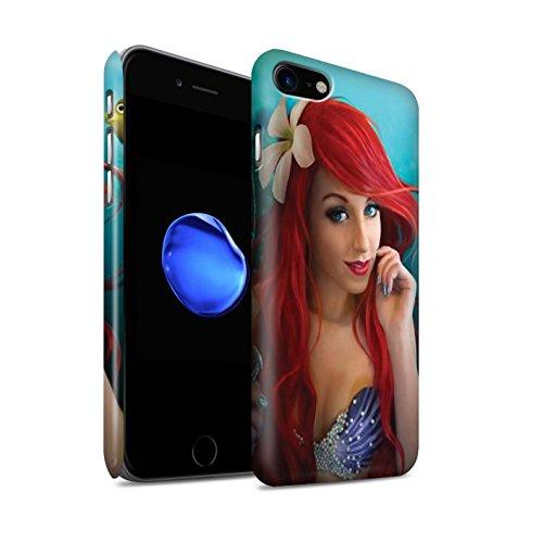 Officiel Elena Dudina Coque / Clipser Matte Etui pour Apple iPhone 7 / Poissons d'Or Design / Agua de Vida Collection Le Crochet