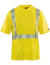 Blakläder 3386101333004X L Gr. 4X Große Hohe Sichtbarkeit t-shirt–Gelb