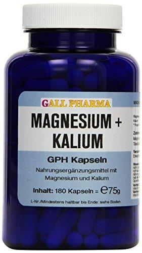Gall Pharma Magnesium plus Kalium GPH Kapseln, 1er Pack (1 x 75 g) - Kalium Plus Magnesium