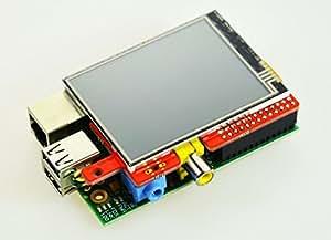"RPi-Display - 2.8"" (320x240) Touch-Display für Raspberry Pi Modell A/B"