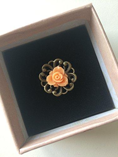 Anillo vintage flor