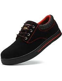 139da5f08 Yudesun Ligero Seguridad Protección Zapatos Hombre - Botas Antideslizante  Puntera Acero Zapatillas Deportivo Excursionistas Industria Construcción