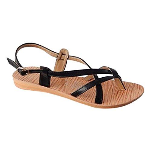Flip Nero Gli Grazie Le Extra Donne Flops Per wB787tnqE