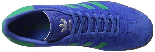 adidas Gazelle, Scarpe da Ginnastica Uomo Blu (Blue/core Green/gum)