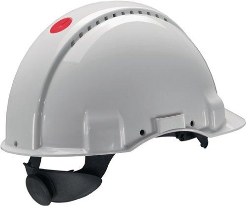 3M Schutzhelm EN397 G3000N weiß ABS belüftet Kunstst. Schweißband