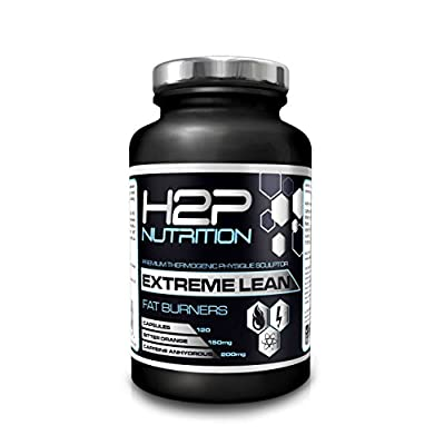 Extreme Lean Potent Fat Burner By H2P Nutrition - Max Strength Weight Loss & Thermogenic Capsules / Suitable For Both Men & Women! Weight Loss Supplement 120 Capsules / Contains Caffeine & Green Tea Extract/ Made In UK - 100% Money Back Guarantee! from H2