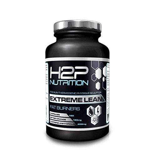 ★ Extreme Lean Potent Fat Burner By H2P Nutrition - Max Strength Weight Loss & Thermogenic Capsules / Suitable For Both Men & Women / 120 Capsules per container / Contains Caffeine & Green Tea Extract / Made In UK - 100% Money Back Guarantee