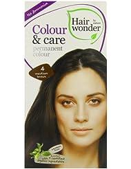 Hennaplus Coloration pour cheveux Hairwonder Colour & Care 4 medium brown 100 ml