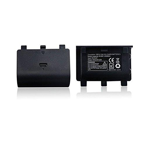 Batterie Akku für Xbox ONE Controller Batterypack - verlängert Spielzeit Akkuladung Xbox One Spiel Controller-ladegeräte