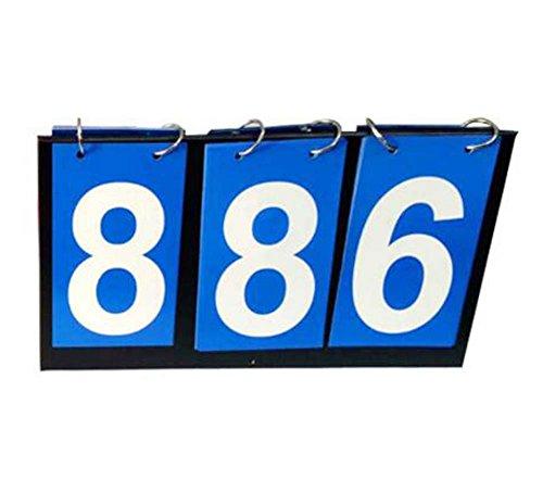 Blaues 3-stelliges Anzeigetafel-Sport-Wettbewerbs-Anzeigetafeln Basketball-Fußball