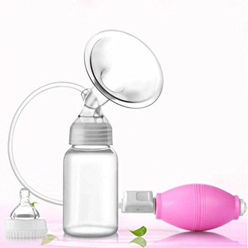NWYJR Du sein pompe confort stérilisation d'aspiration grandes bouteilles sphérique manuel tire-lait