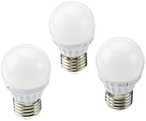 Trio Leuchten LED Leuchtmittel E24, 4 W, 3000 K, 310 Lumen, dreier Blister 986-43