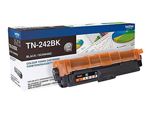Preisvergleich Produktbild Brother TN242BK - Schwarz - Original - Tonerpatrone - für DCP 9022CDW HL-3142CW, 3152CDW, 3172CDW MFC 9332CDW Tonerkassette TN-242BK / schwarz / ca. 2.500 Seiten / für HL-3152CDW, -3172CDW