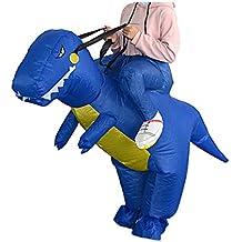 Baoblaze Drôle Gros Adulte Costume Gonflable Cavalier Dinosaure Déguisement pour  Soirée Holloween Carnaval b8e159d7ae1