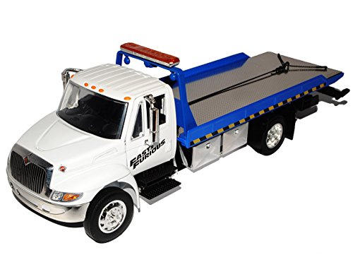International Durastar Auto Abschlepper 4400 Flat Bed The Fast and the Furious 7 1/24 Jada Modell Auto (4400 Modell)