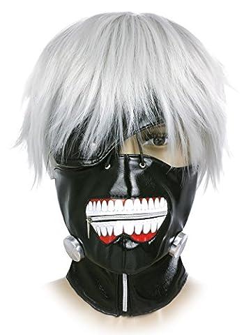 CoolChange Tokyo Ghoul Ken Kaneki masque et perruque