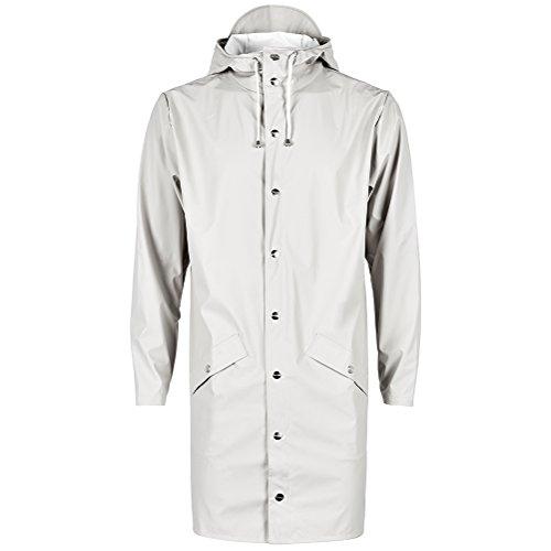 RAINS Herren Regenmantel Long Jacket beige