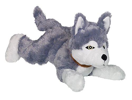 "Nobby Plüsch Hund liegend \""HUSKY\""  35 cm"