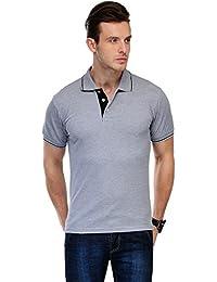 B&W ORGANIC- PREMIUM Cotton Polo T-shirt - Grey