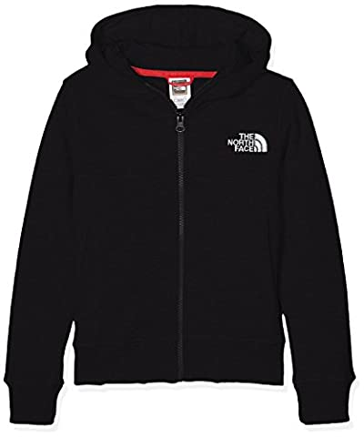 The North Face Drew Peak Kids Outdoor Hoodie available in TNF Black Size Large