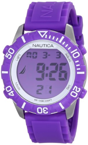 Nautica Unisex N09931G NSR 100 Fashion Digital Watch