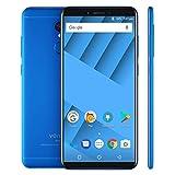 Grfg5656 [HK Stock Vernee M6 Handy, 4 GB + 64 GB, Fingerabdruckidentifizierung, 5,7 Zoll Android 7.0 MTK6750 Octa-Core bis 1,5 GHz, Netzwerk: 4G (Farbe : Blau)