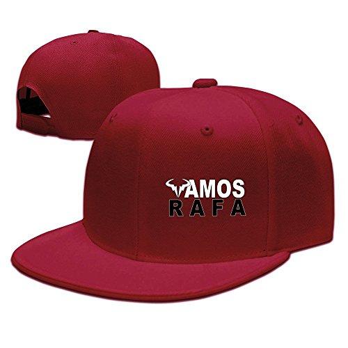 d5a093291eb Trithaer Rafael Nadal Rafa Vamos Logo Baseball Snapback Cap Ash