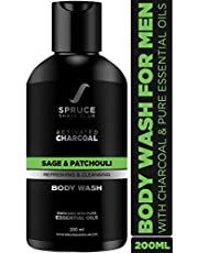 Spruce Shave Club Charcoal Body Wash For Men