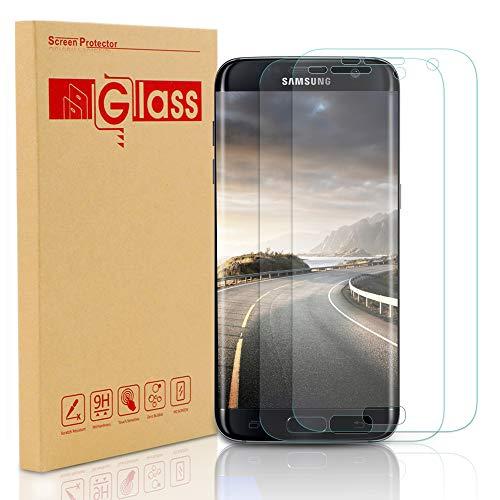 Galaxy S7 Schutzfolie Panzerfolie 2 Stück, Sylanda HD Ultra Klar Displayschutzfolie 3D 9H Härtegrad Anti-Kratzer Anti-Fingerabdruck Displayschutz für Samsung Galaxy S7