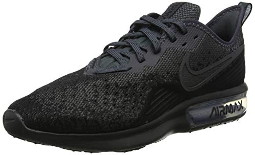 Nike Herren AIR MAX Sequent 4 Fitnessschuhe, Schwarz Black/Anthracite 002, 44 EU