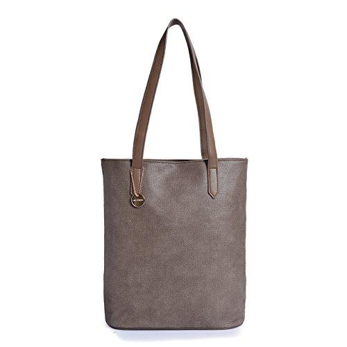[Sponsored]Lino Perros Women's Handbag (Brown)