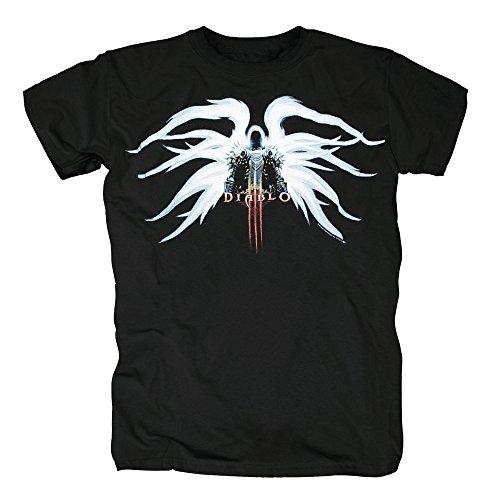 TSP Diablo III - Tyrael T-Shirt Herren S (Kostüm Blizzard Mann)