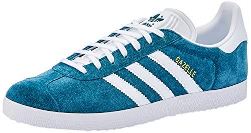 adidas Herren Gazelle Fitnessschuhe, Mehrfarbig (Petnoc/Ftwbla/Ftwbla 0), 44 EU -