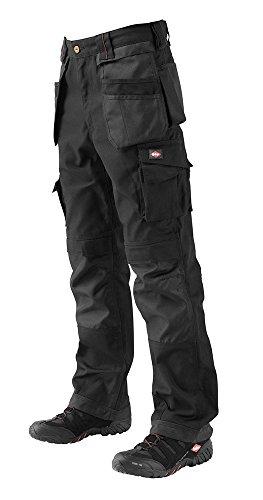 Lee Cooper 210 Pantalon Cargo Long pour homme, gris noir/noir
