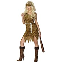 Smiffy's - Disfraz de mujer cavernícola, talla M (22452M)