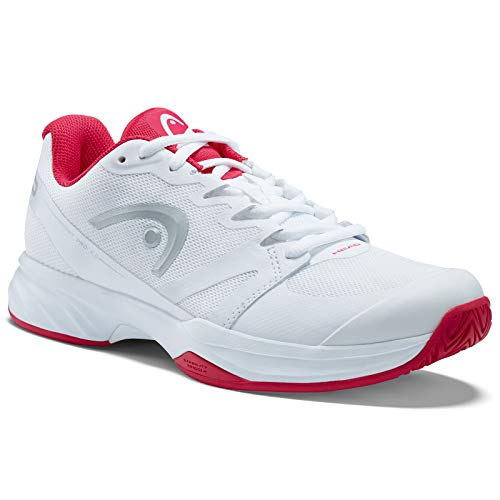 Head Sprint PRO 2.0 Women, Scarpe da Tennis Donna, Bianco (White/Pink Whpk), 38.5 EU