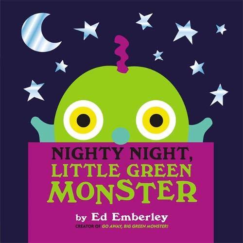 Nighty Night, Little Green Monster (Bücher Halloween Vorschule)