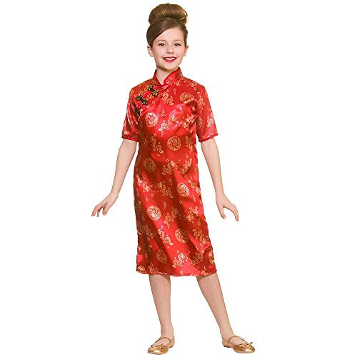 Unbekannt Chinese Girl 5-7 Years for National Fancy Dress (National Fancy Dress Kostüm)